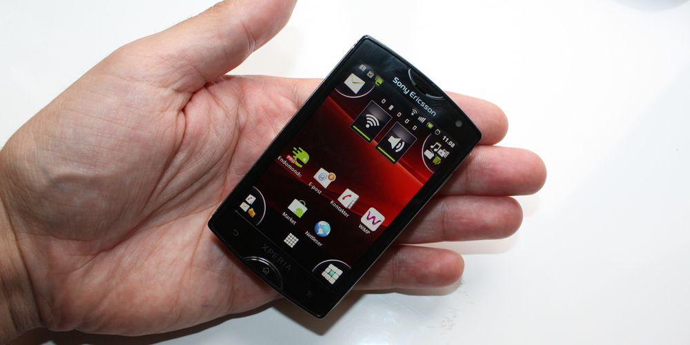 Nå får Xperia Mini Android 4.0