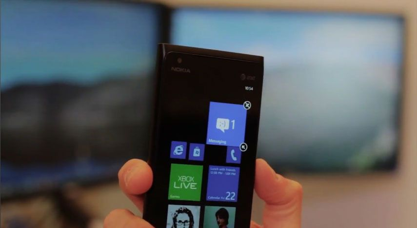 Se video av Windows Phone 7.8