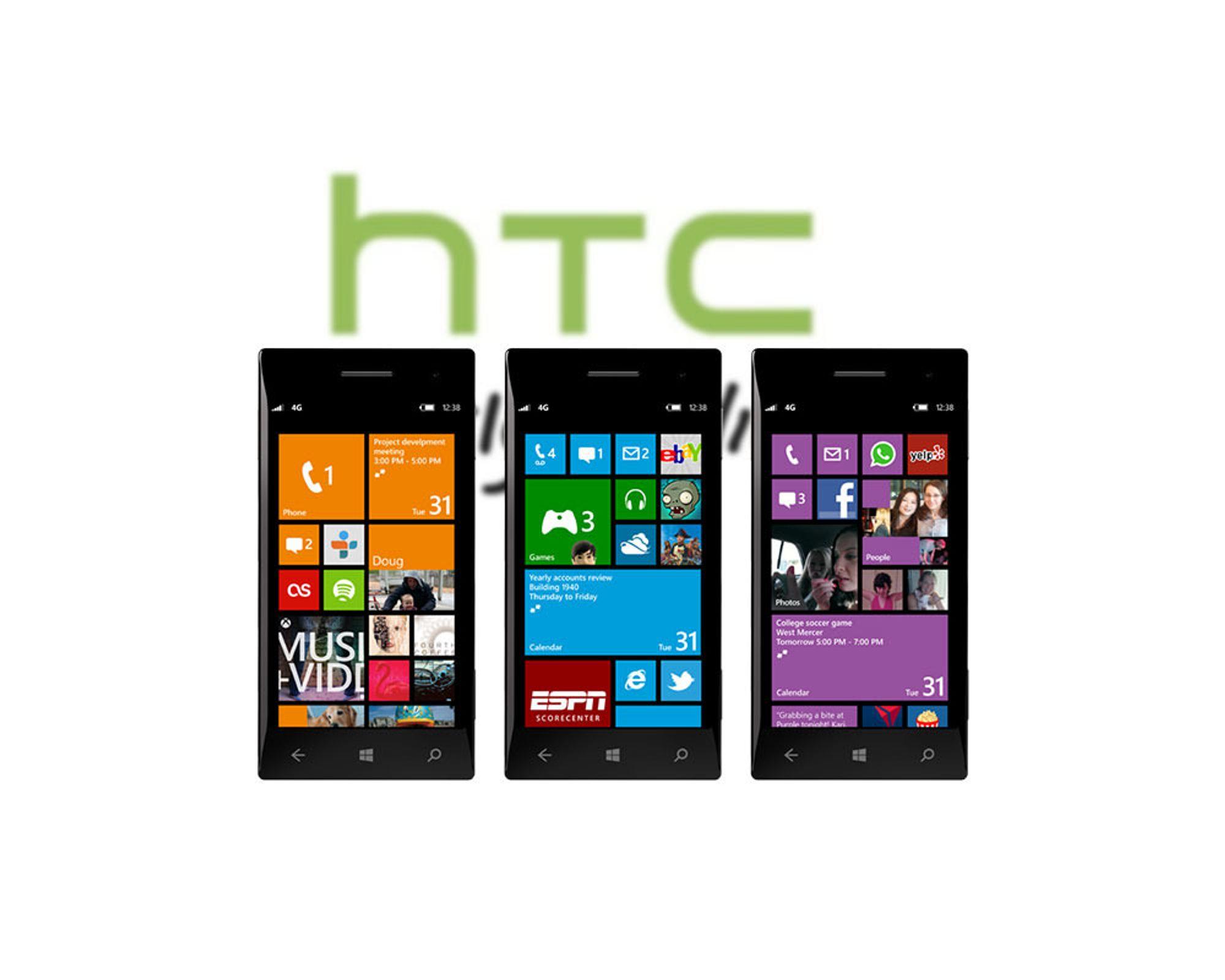 HTCs WP8-telefoner lekker ut