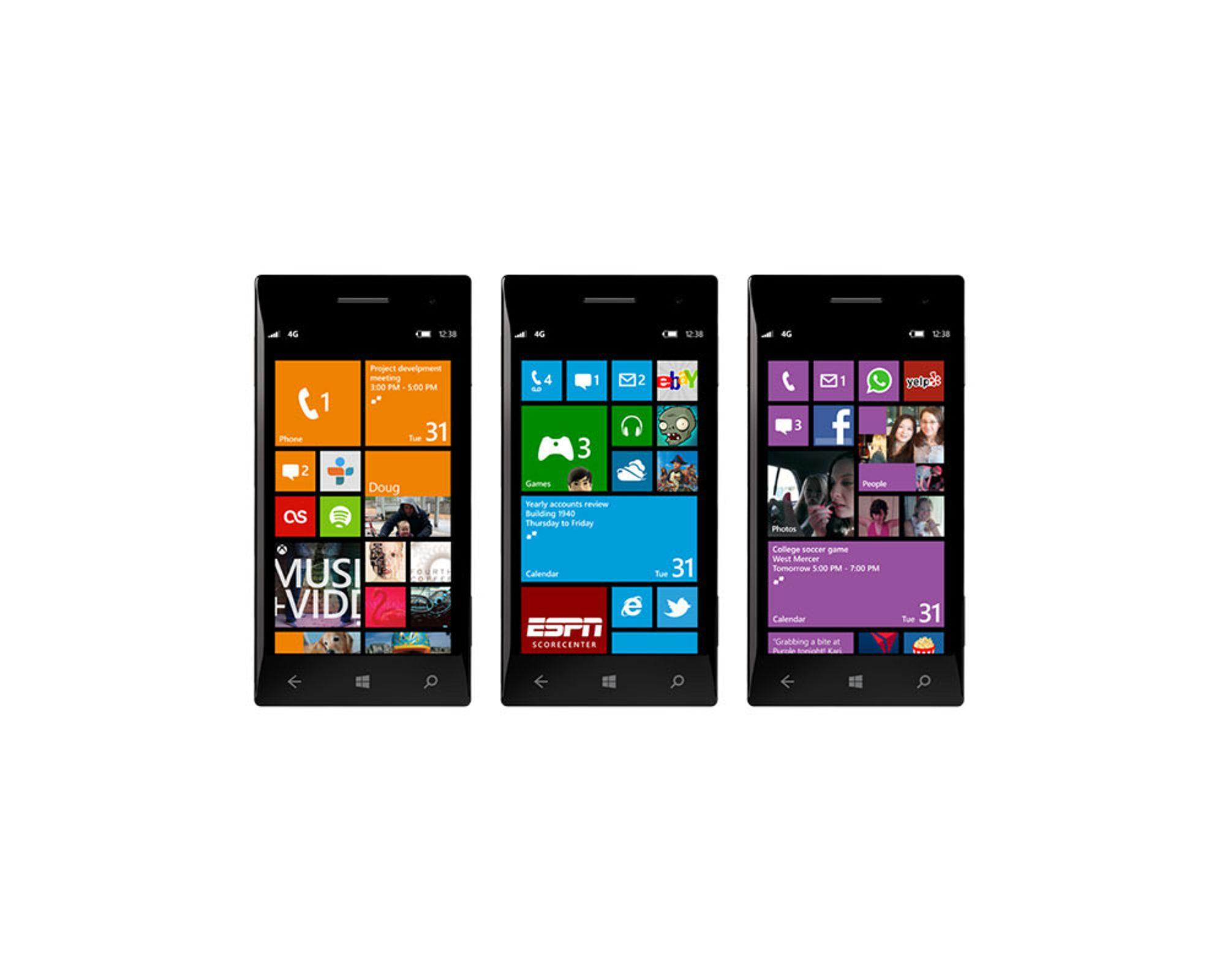 Microsoft lanserer Windows Phone 8
