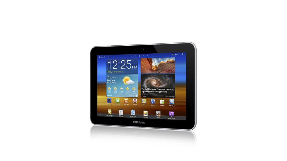 Samsungs 4G-nettbrett i butikk
