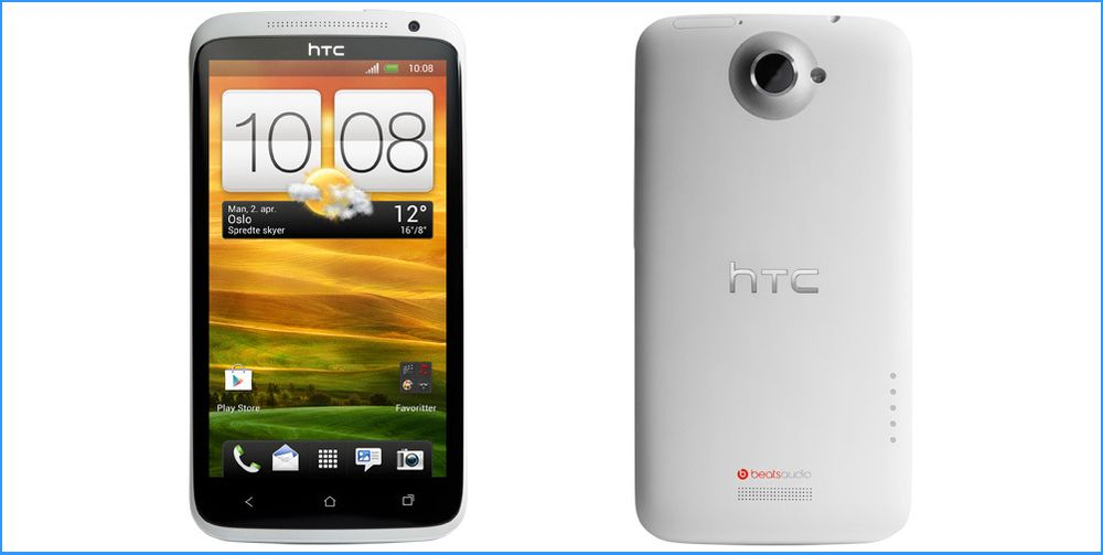 Dekningstrøbbel på HTC One X