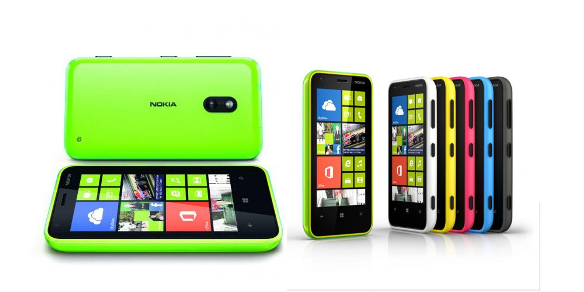 Nokia Lumia 620 er lansert