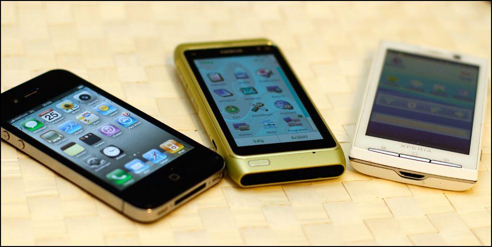 Android, Symbian^3 eller iOS4?