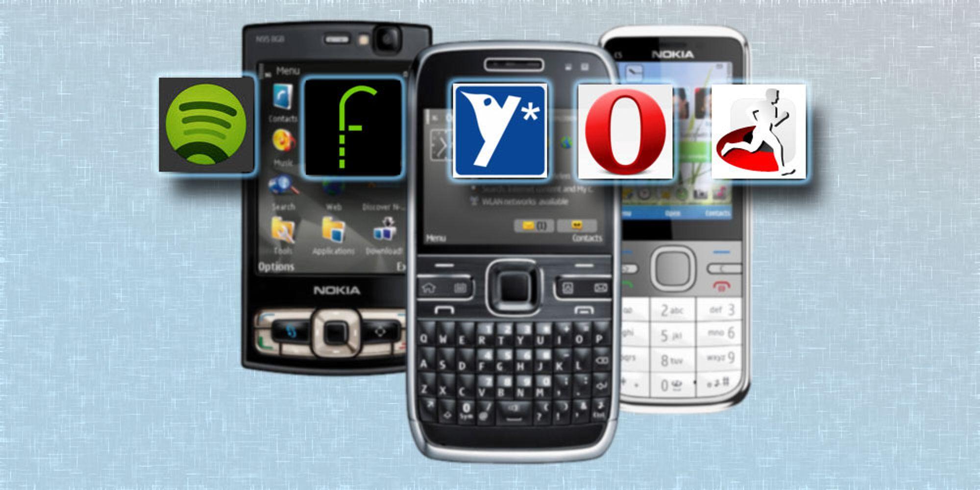 Fem apper du må ha på Nokia-mobilen din