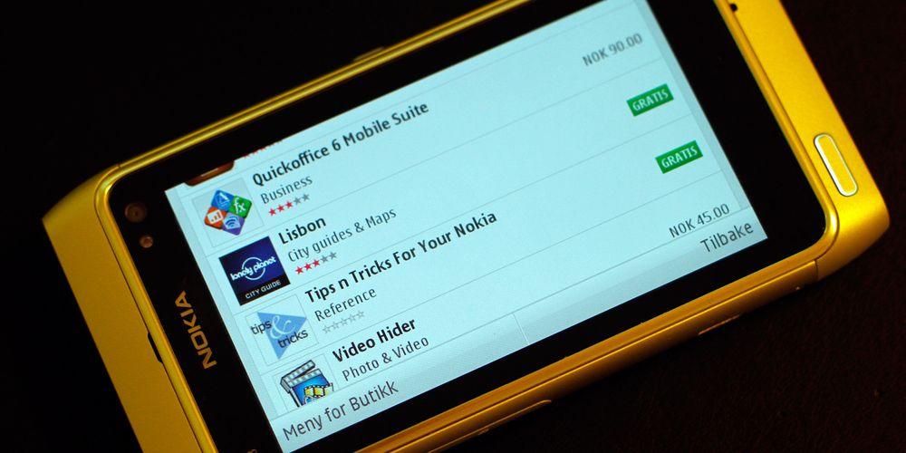 Slik er Nokias programvarebutikk
