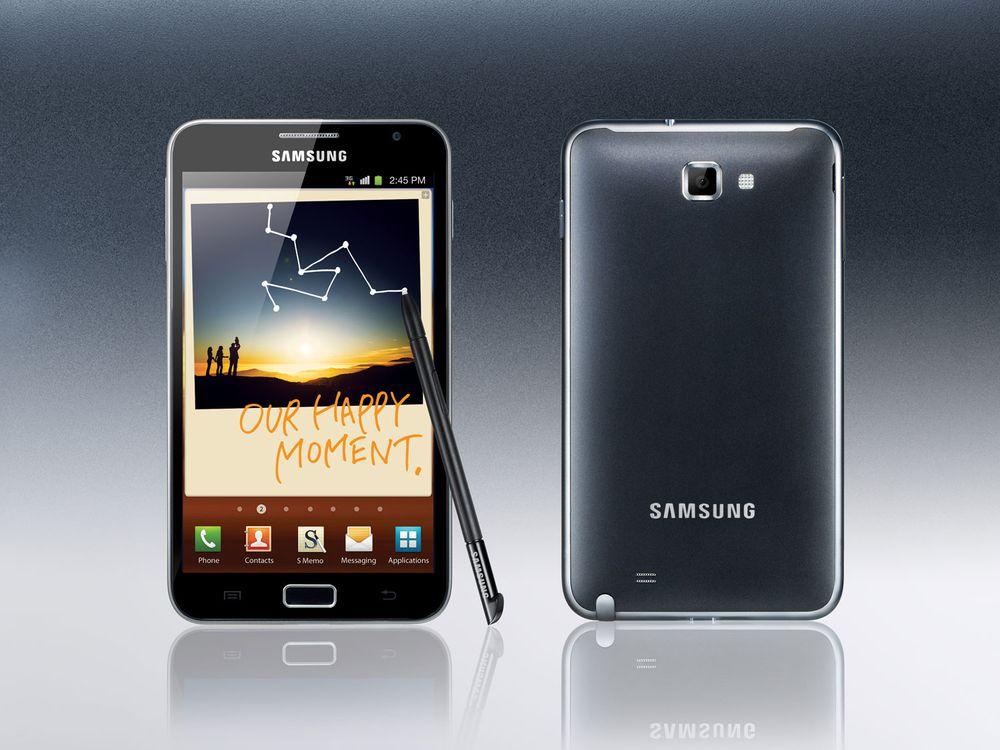 Galaxy Note får nye funksjoner i Android 4.0