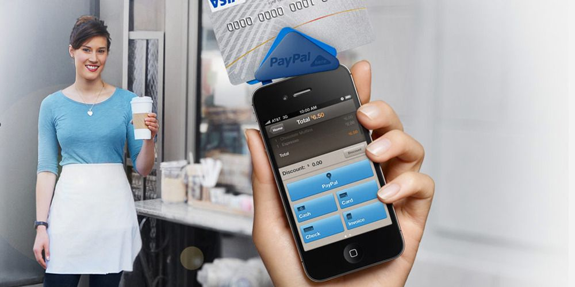 PayPal med mobil kortbetaling