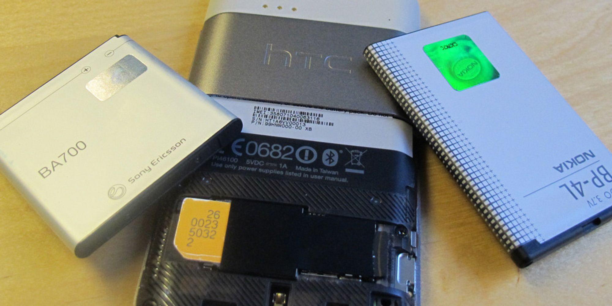 Fem enkle tips for bedre batteritid