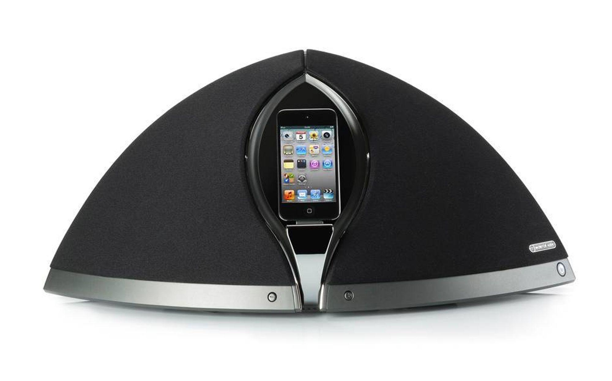 iPhone-dokking med imponerende lyd