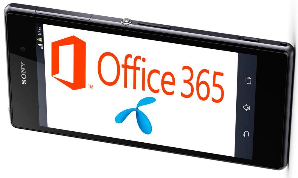 Tett samarbeid: Telenor og Microsoft vil levere sine felles nettskytjenester ferdig integrert til små kunder.