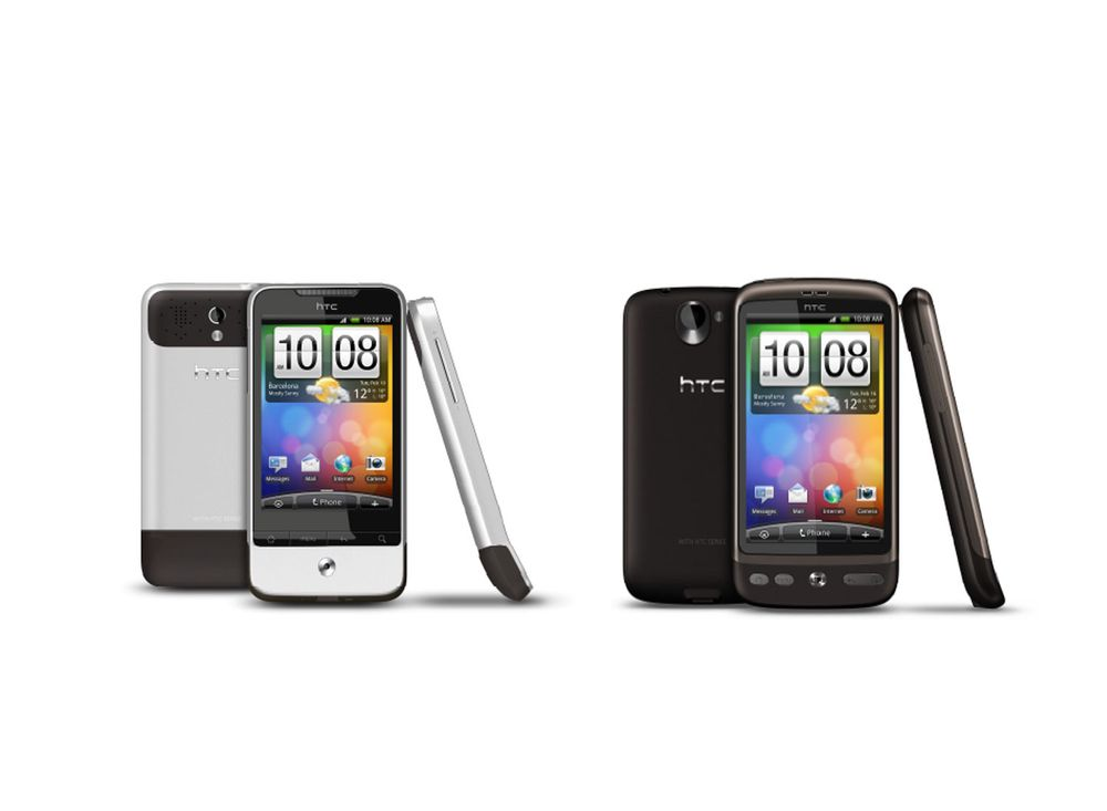 HTC lanserer to Android-telefoner