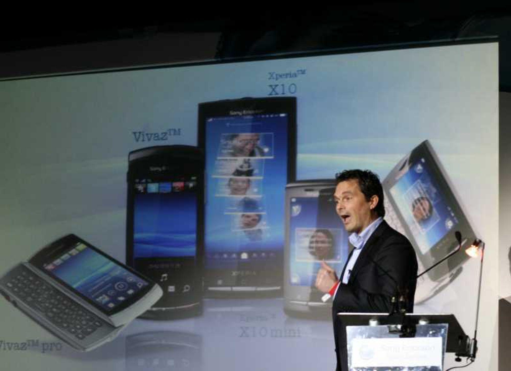 2 gamle, 3 nye fra Sony Ericsson