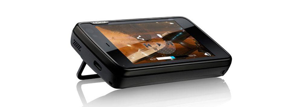 Nokia demonstrerer surfing på N900