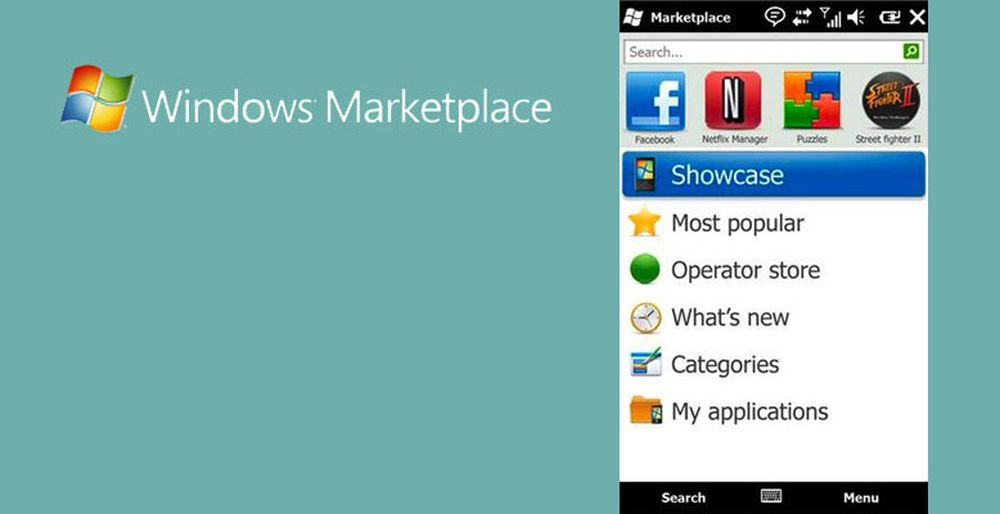 Windows Marketplace lever