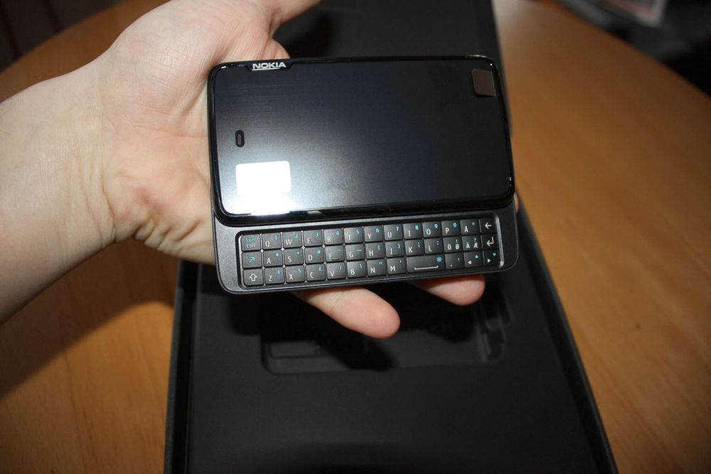 Vi unboxer Nokia N900