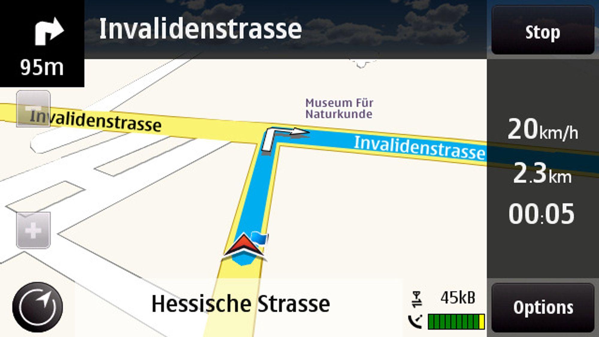 Sjekk ut nye Nokia Maps