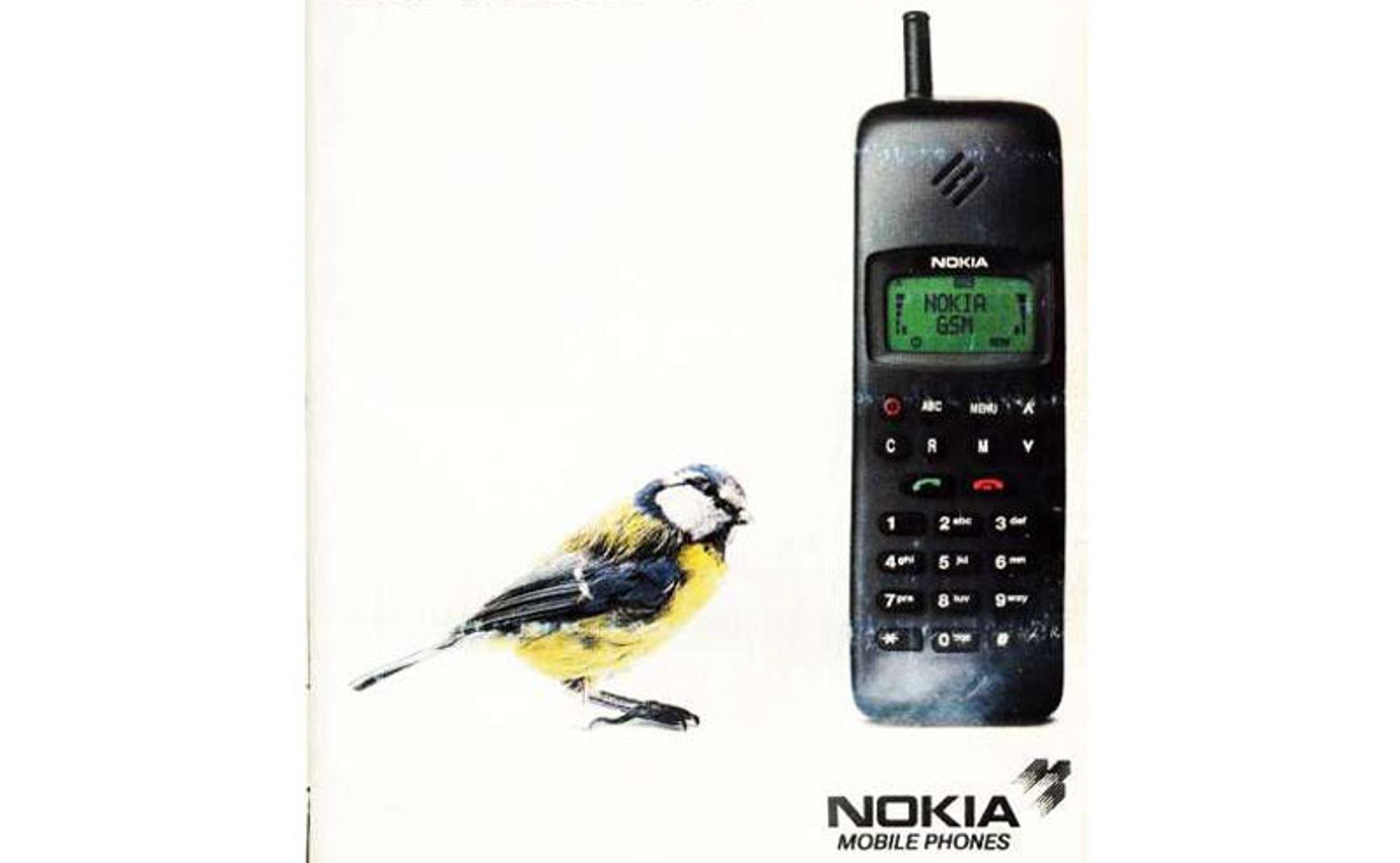 Dette var den første GSM-samtalen