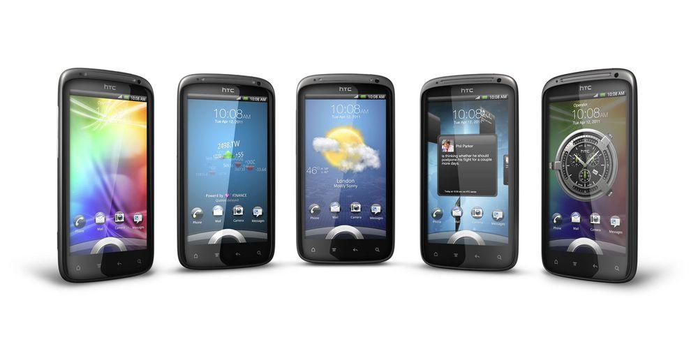 Se video av HTC Sensation