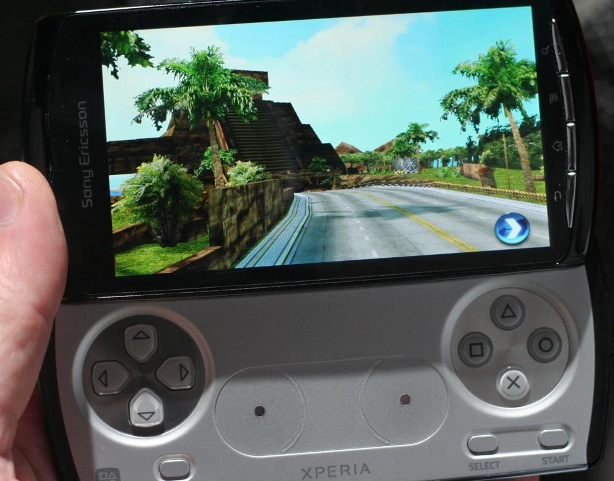 Snart kommer Playstation-telefonen