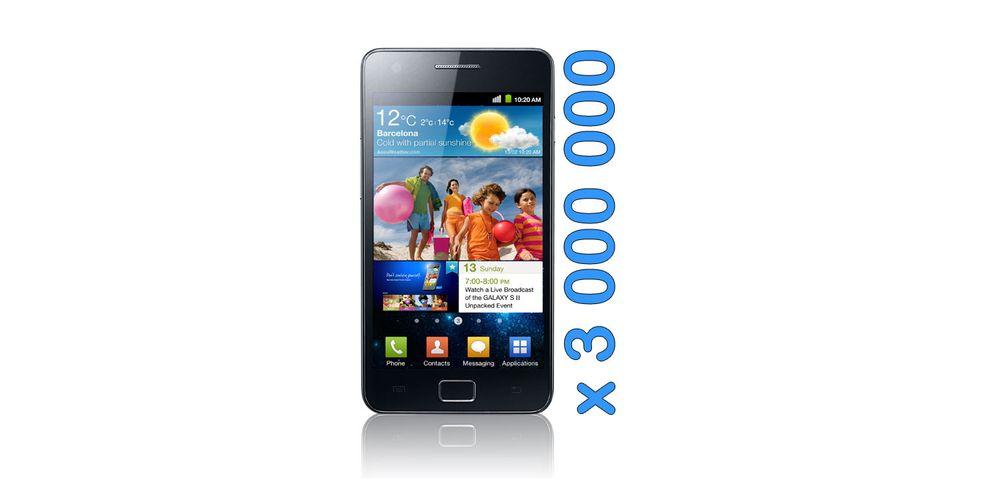 Galaxy S II gjør Samsung greit fornøyde