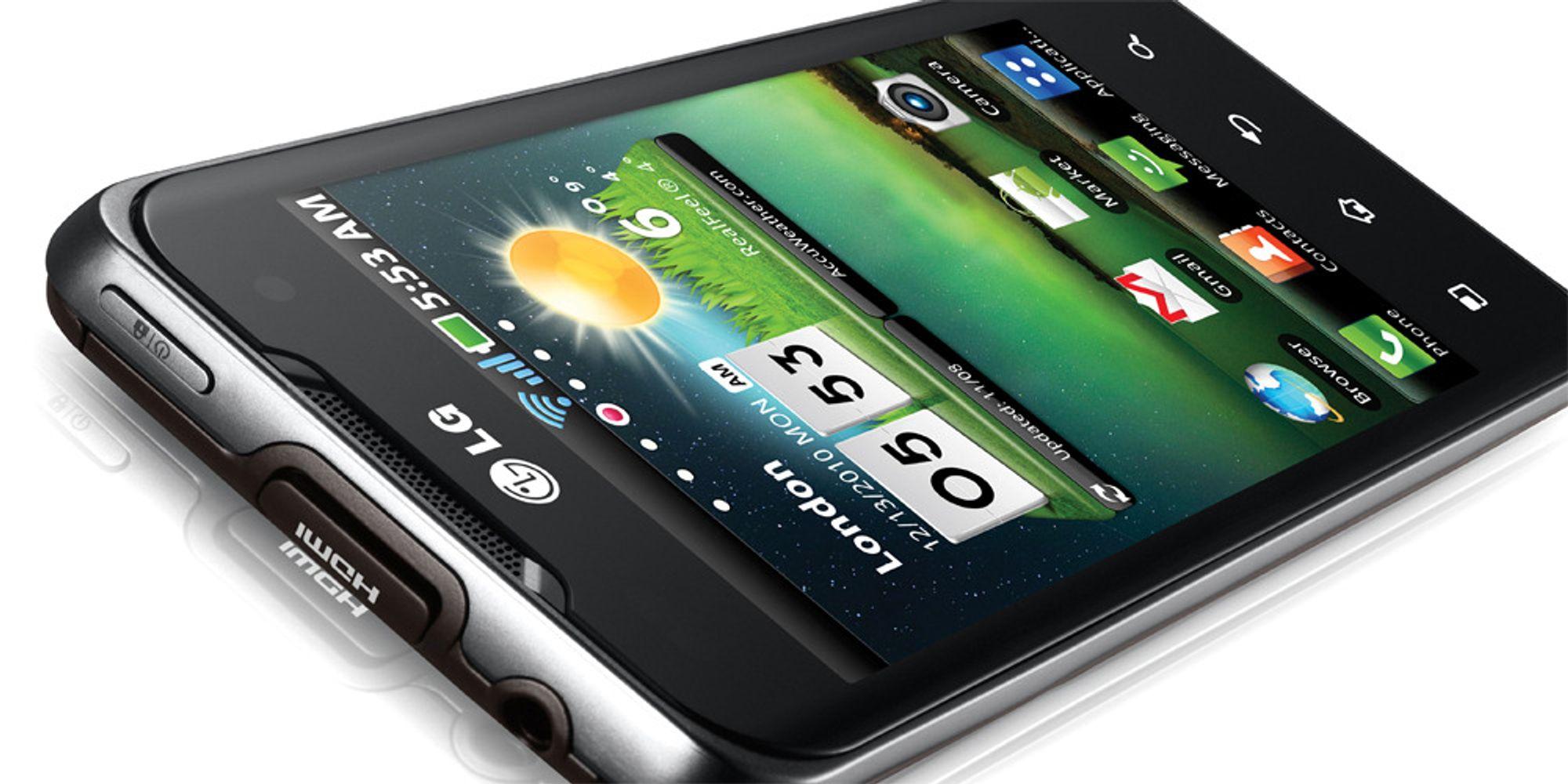 Stygge mobiltall fra LG