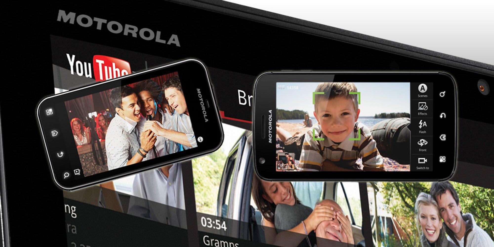 Motorola til Norge?