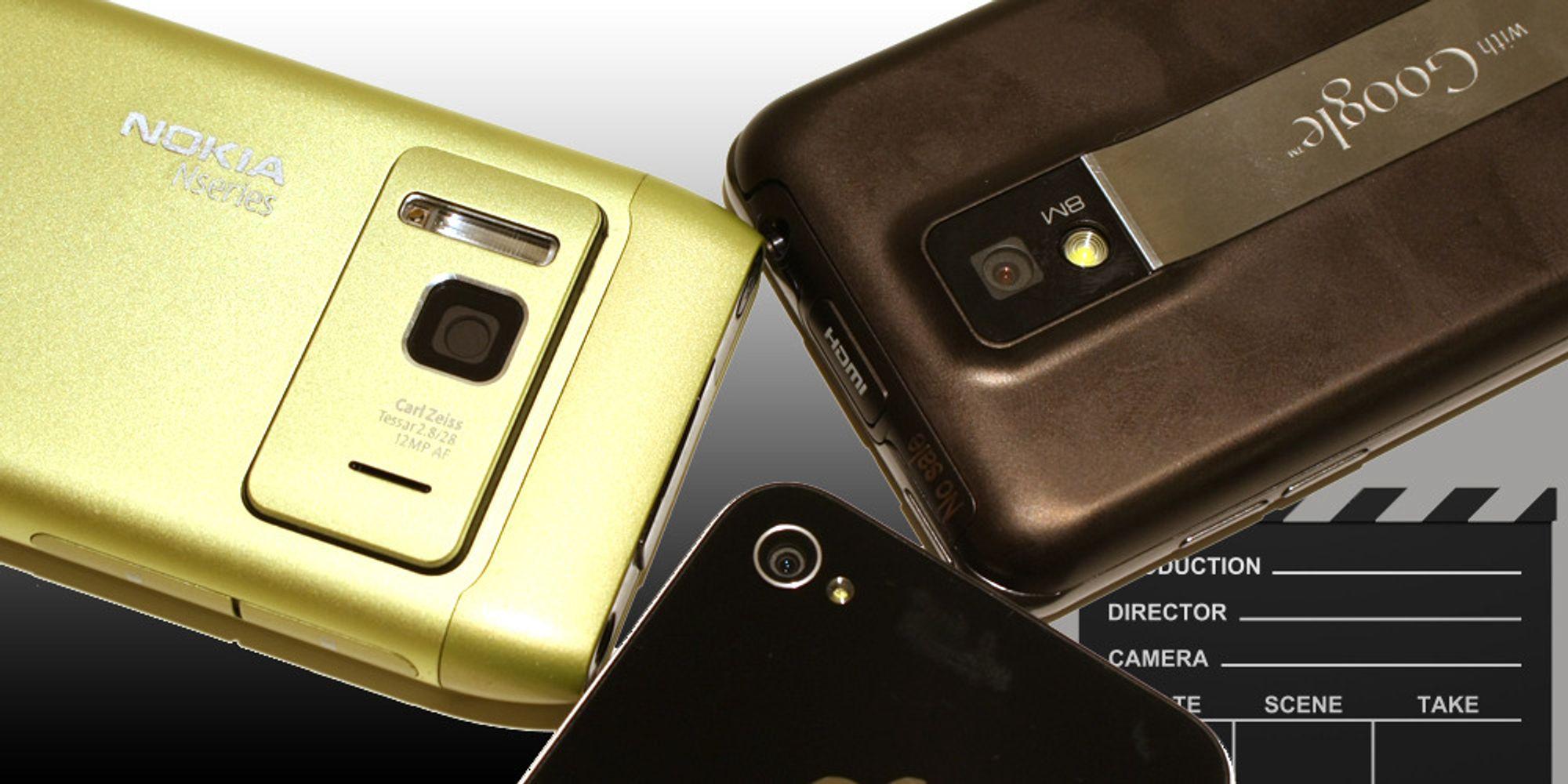 Optimus 2X vs iPhone 4 vs Nokia N8
