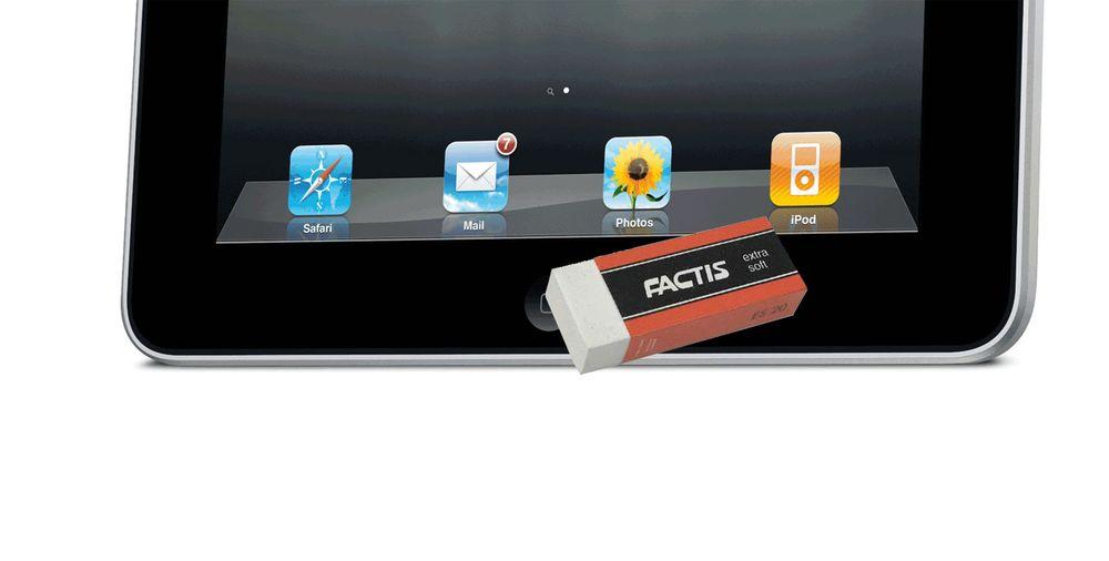 - iPad og iPhone blir tasteløse