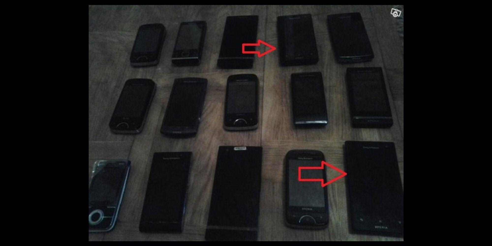 To nye Sony-telefoner lekket