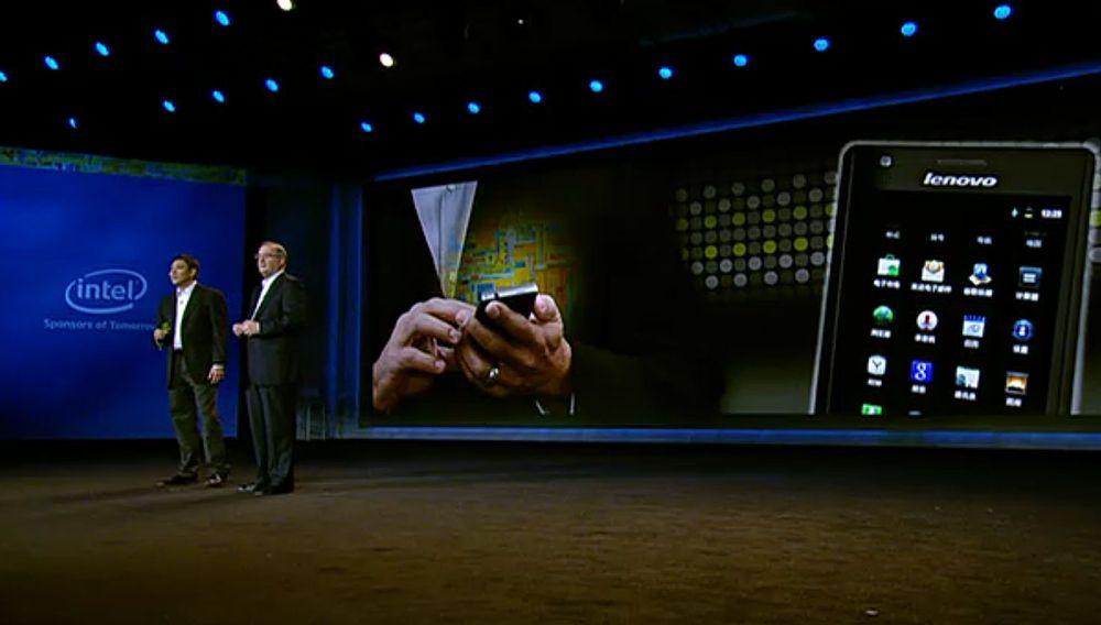 Her er Intels mobiltelefon
