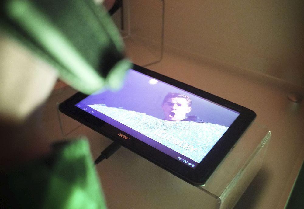 Denne har skjerm med 1080p