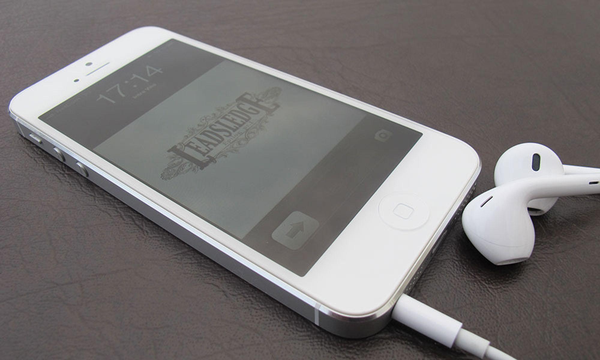 Selger mindre iPhone 5 enn forventet