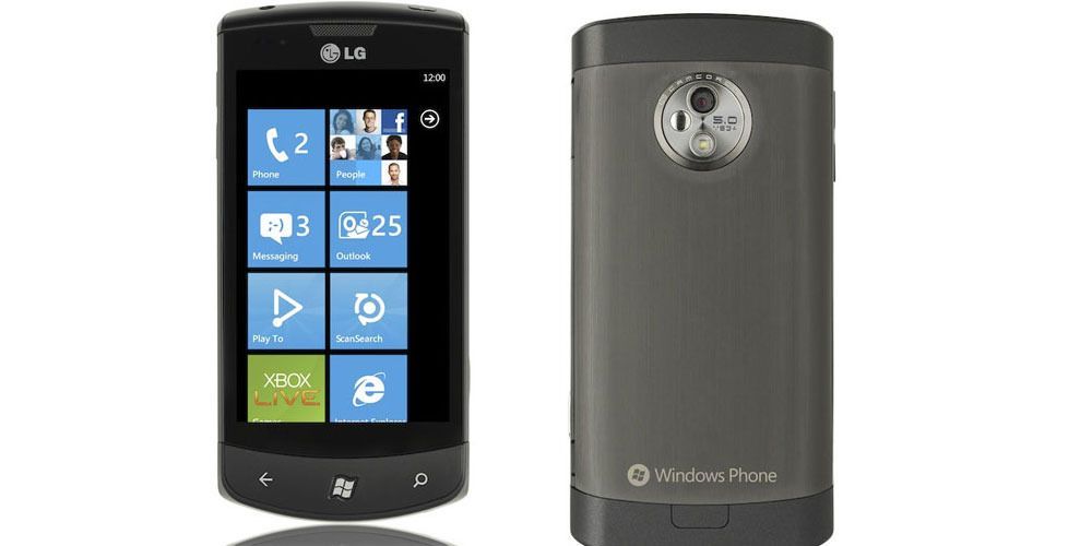Går LG tilbake til Windows Phone?