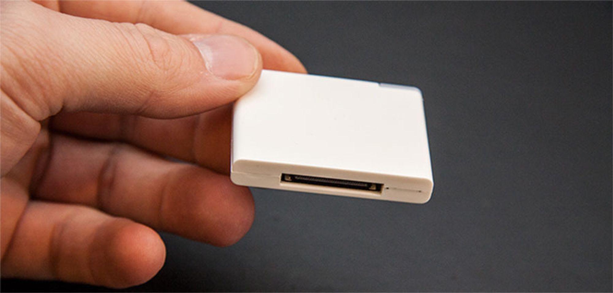 Vinn dings som gjør iPhone-høyttalerne trådløse