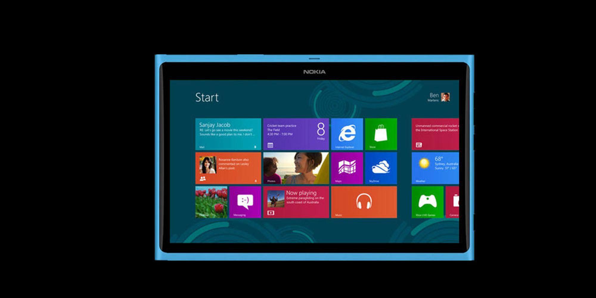 Nokia-tablet kan komme i februar