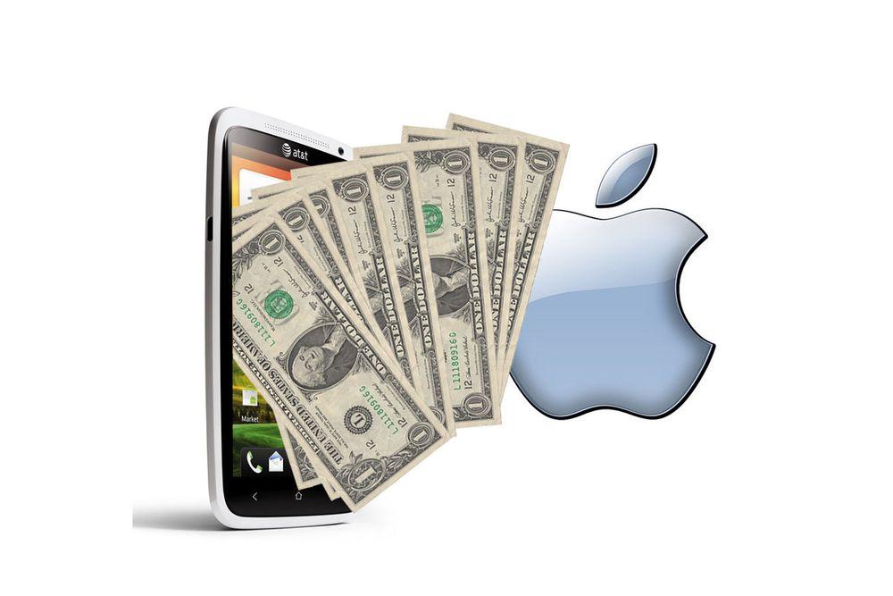 - Apple kan tjene milliarder på HTC-avtale