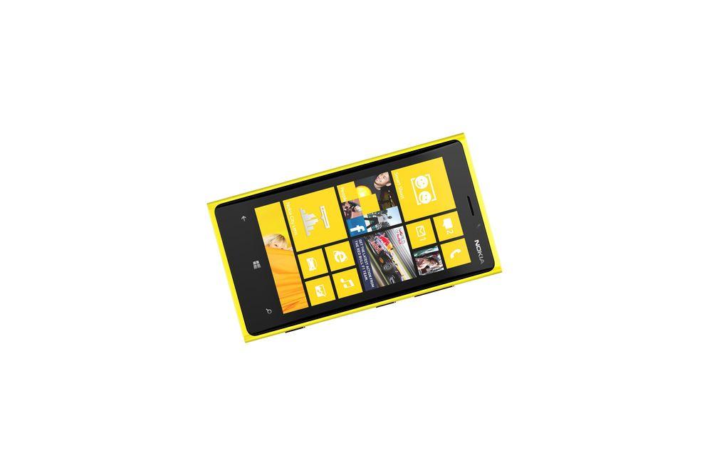 Lumia 920 kommer i salg denne måneden