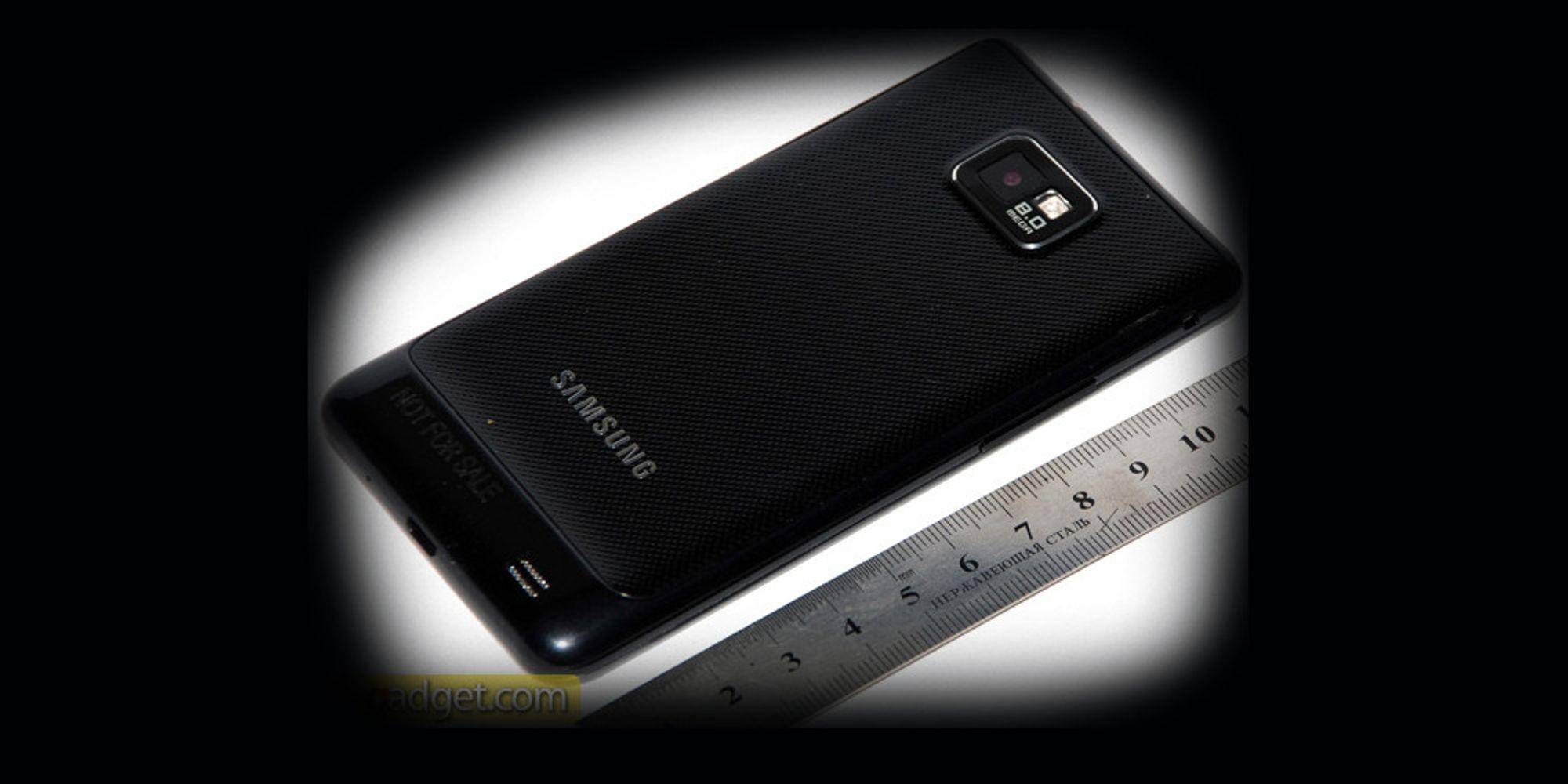 Galaxy S II er testet