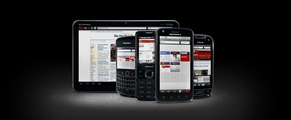 Nye versjoner av Opera Mini og Opera Mobile