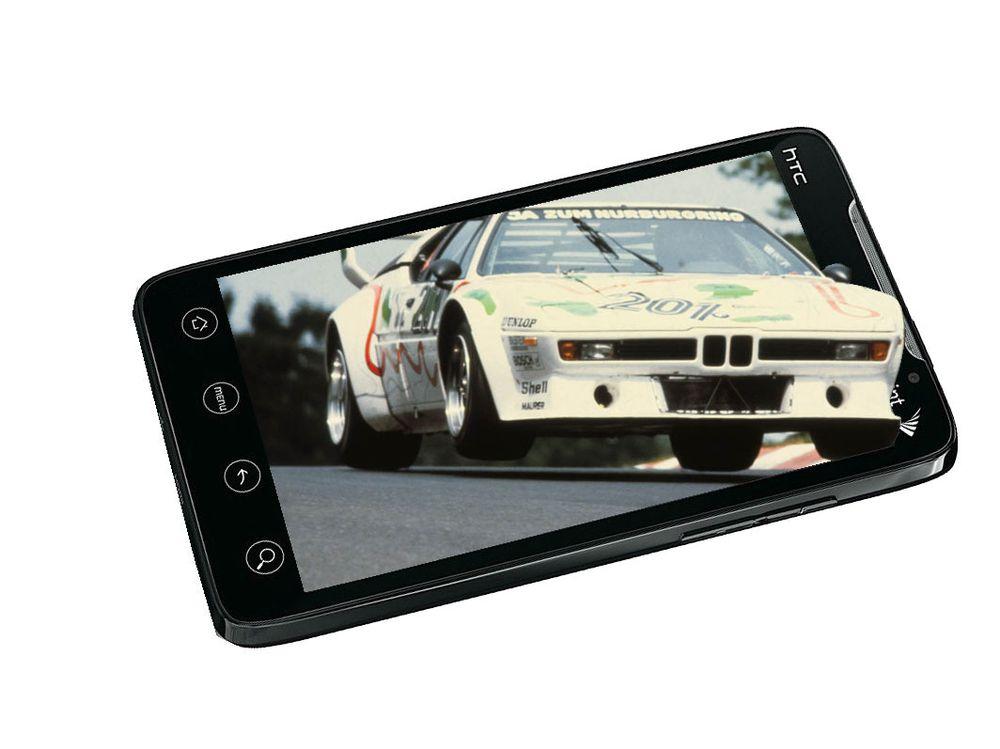3D-mobil fra HTC
