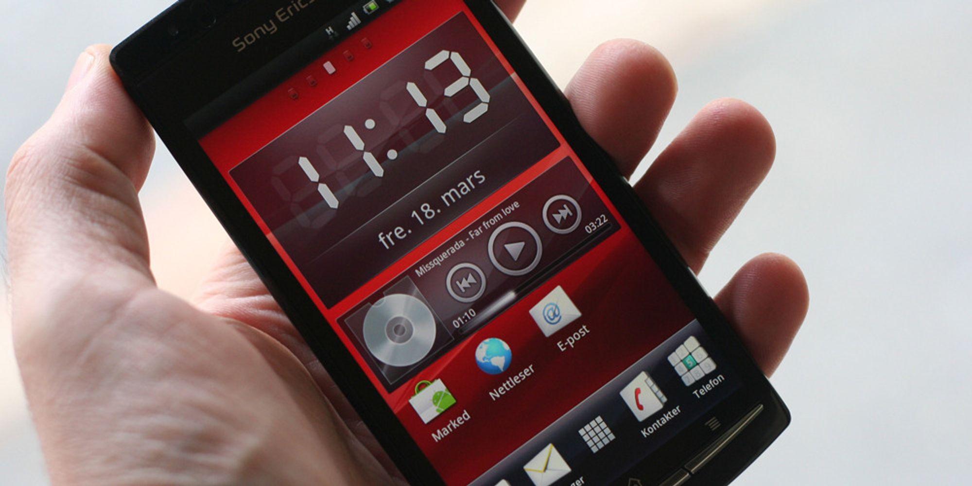 Førsteinntrykk: Sony Ericsson Xperia Arc