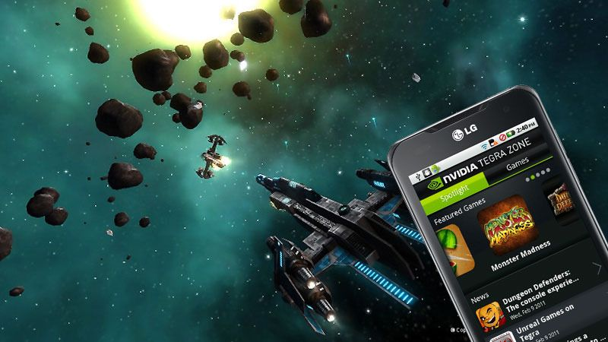 Nvidia lanserer Tegra-app
