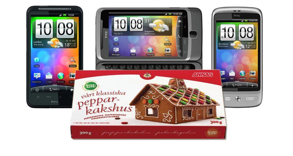 HTCs Desire-serie får Gingerbread