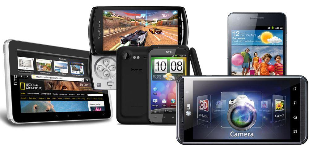 Her er lyntestene av de nyeste mobilene