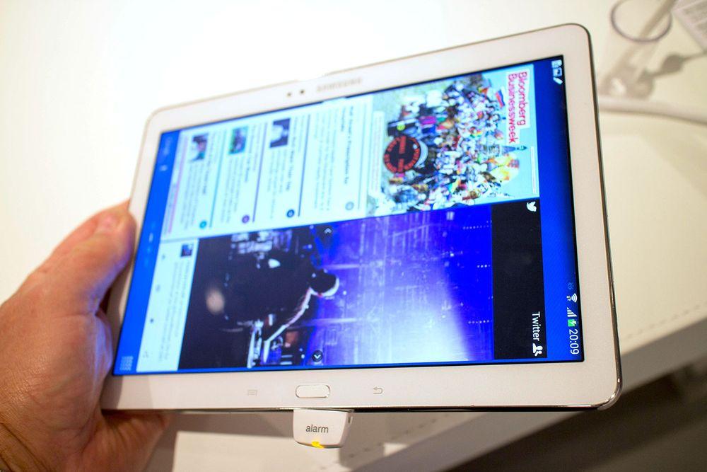 Nye Note 10.1 har sylskarp skjerm