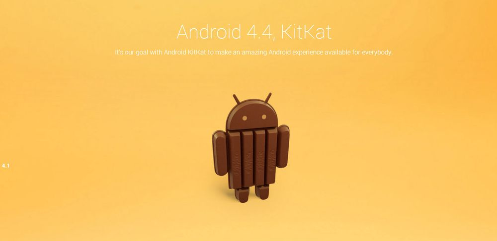 Google og Nestlé lanserer Android 4.4