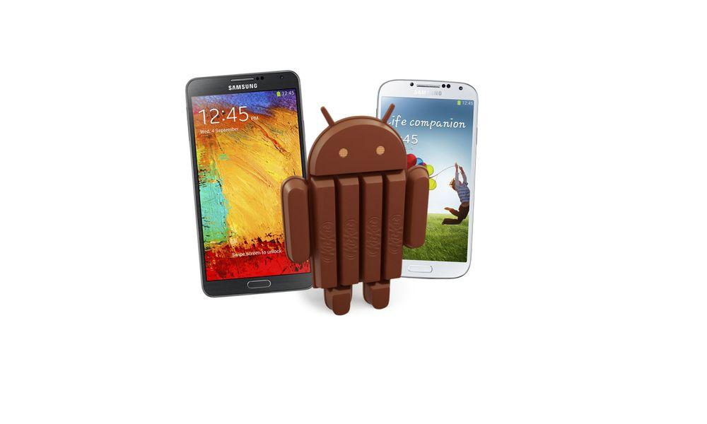 TEST: - KitKat til Galaxy S4 og Note 3 i januar