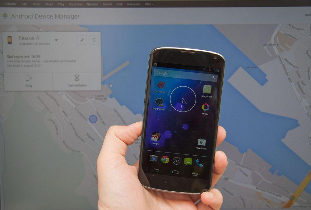 Endelig sporing på alle Android-telefoner