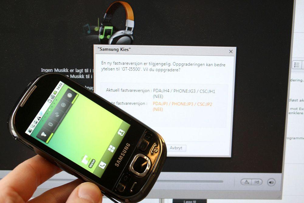 Nå kan du oppdatere Galaxy 3 og 5